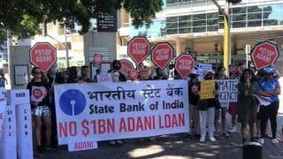 India vs Australia: Two Protesters Enter Ground Holding Banner Against Adani During Sydney ODI